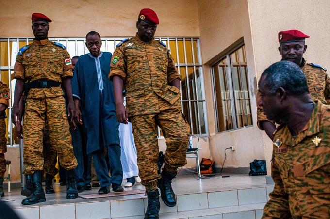 Burkina faso Military leader