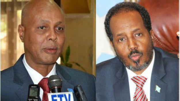 madaxweynaha iyo Raysal wasaaraha Somalia
