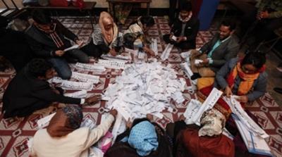 Opposition alliance accused Hasina's party of using stuffed ballot boxes [Mahmud Hossain Opu/Al Jazeera]