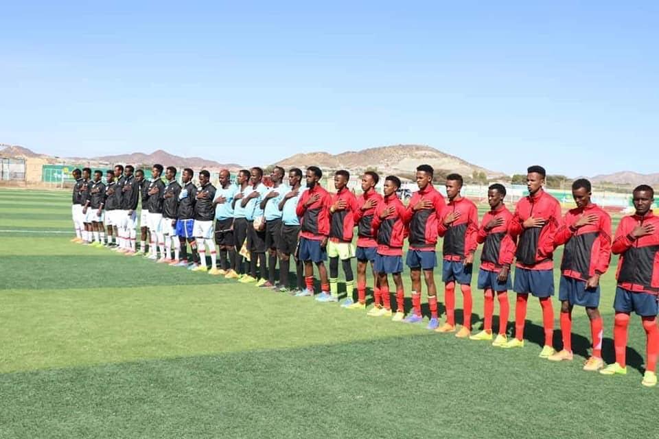 Labada Naadi ee isugu soo baxay Finalka Koobka Boorama Cup. Araweelo News Network.